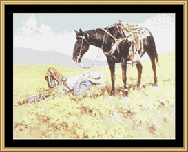 American Cowboy Ii - Cross Stitch Download | Crafting | Cross-Stitch | Other