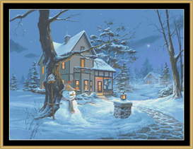 Winters Night - Cross Stitch Download | Crafting | Cross-Stitch | Other