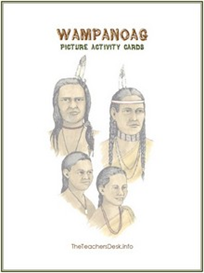 Wampanoag Picture Activity Cards | eBooks | Education