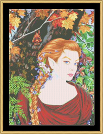 Elfine - Maxine Gadd Cross Stitch Download | Crafting | Cross-Stitch | Other