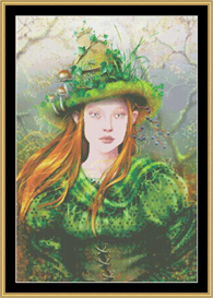 Green Witch - Maxine Gadd Cross Stitch Download | Crafting | Cross-Stitch | Other