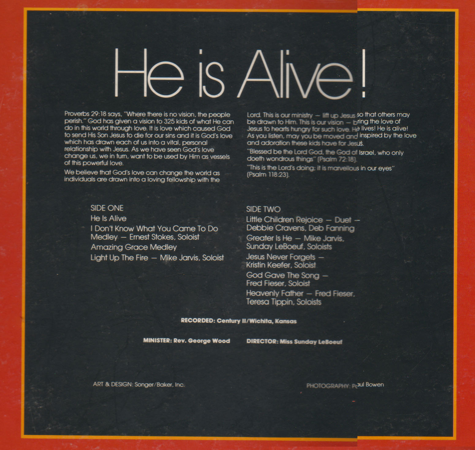 Fourth Additional product image for - He is Alive - Album