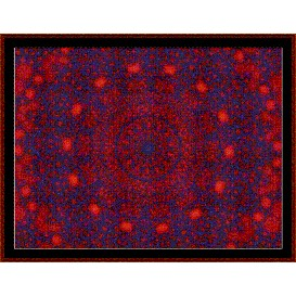 Fractal 290 cross stitch pattern by Cross Stitch Collectibles | Crafting | Cross-Stitch | Wall Hangings
