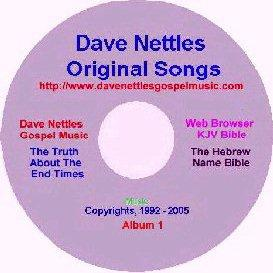 dave nettles,  album 1,  12 original songs