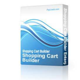 shopping cart builder enterprise edition