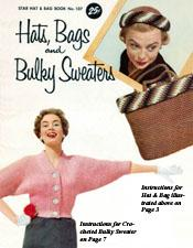 Hats Bags and Bulky Sweaters - Adobe .pdf Format | eBooks | Arts and Crafts