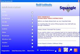 Dell Latitude D510 XP drivers restore disk recovery cd driver download iso   Software   Utilities