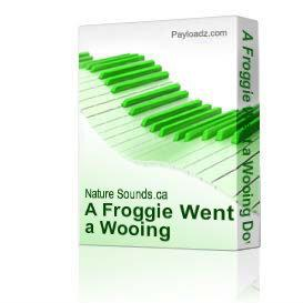 a froggie went a wooing download