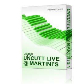 Uncutt Live @ Martini's 11/7/10 Double Cd Set | Music | R & B