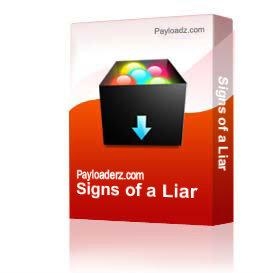 Signs of a Liar | Other Files | Documents and Forms