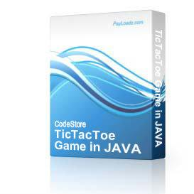 TicTacToe Game in JAVA | Software | Games