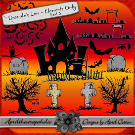 Download the Scrapbooking Other Files | Draculas Lair Elements Only Part 3