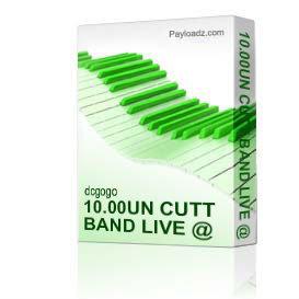 10.00un cutt band live @ upscale 11-13-10