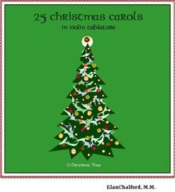 25 Christmas Carols in Violin Tab | eBooks | Music