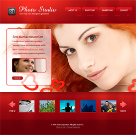 Photo Studio Template