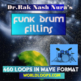 Music Loops - Funk Drum  Fill Ins | Music | Soundbanks