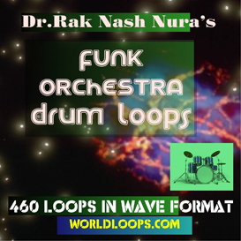 music loop - funk orchestra drum loops