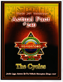Actual Fact #240 The Cycles | eBooks | Religion and Spirituality