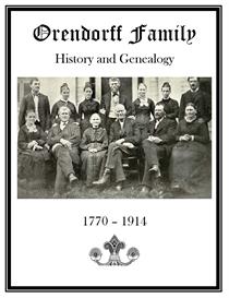 Orendorff Family History and Genealogy | eBooks | History
