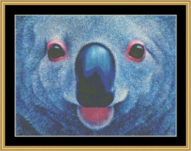 The Many Faces - Koala Bear Cross Stitch Download | Crafting | Cross-Stitch | Other