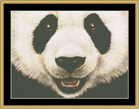The Many Faces - Panda Bear Cross Stitch Download | Crafting | Cross-Stitch | Other