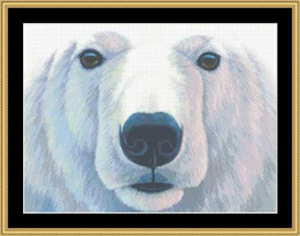 The Many Faces - Polar Bear Cross Stitch Download | Crafting | Cross-Stitch | Other