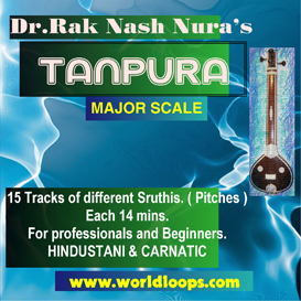 Indian Tanpura Bgm - Major Scale | Music | Classical