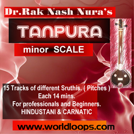 INDIAN TANPURA BGM - minor  SCALE | Music | Classical