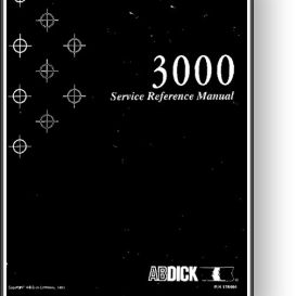 AB DICK Century 3000 Service Manual | Other Files | Documents and Forms