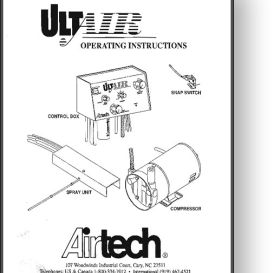 airtech ultair powder system installation manual