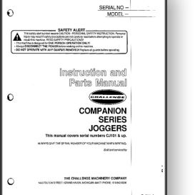 Challenge Champion Paper Jogger Manual | Other Files | Documents and Forms