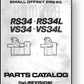 Hamada RS / VS 34 Parts Manual | Other Files | Documents and Forms