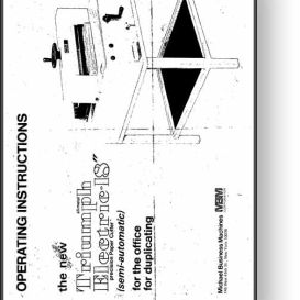 MBM Triumph 4810 / 4850 18 Electric Cutter Manual | Other Files | Documents and Forms