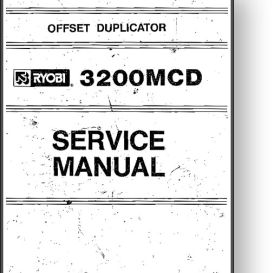 Ryobi 3200MCD Service + Parts + Operator's Manual | Other Files | Documents and Forms