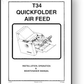 Stahl T34 Quickfolder Operator's & Installation Manual | Other Files | Documents and Forms