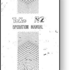 Toko R2 Offset Press Operator's and Parts Manual | Other Files | Documents and Forms