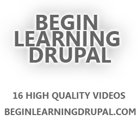Drupal Video Training - Basic Course on Building a Website using Drupal CMS