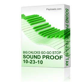 Sound Proof 10-23-10 Takoma Station | Music | Miscellaneous