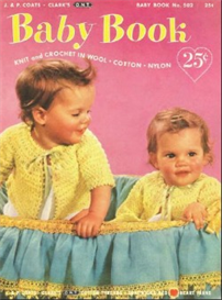 Baby Book 502 - Crochet Pattern eBook | eBooks | Antiques