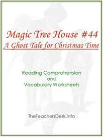 Magic Tree House #44 Reading Comp & Vocab WS | eBooks | Education
