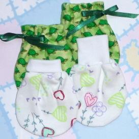 wind song no scratch baby mitten pattern