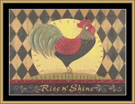 Rise And Shine - Cross Stitch Download | Crafting | Cross-Stitch | Other
