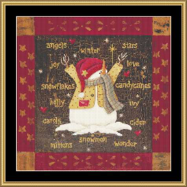 Square Winter - Cross Stitch Download | Crafting | Cross-Stitch | Other