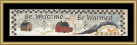 Be Welcome Be Warm - Cross Stitch Download | Crafting | Cross-Stitch | Other