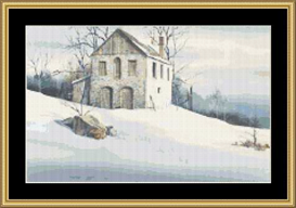 Gentle Snow - Cross Stitch Download | Crafting | Cross-Stitch | Other