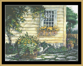 Garden Path - Cross Stitch Download | Crafting | Cross-Stitch | Other