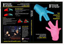 Finger Fitness The Complete Hand Workout video Part A & B | Movies and Videos | Fitness