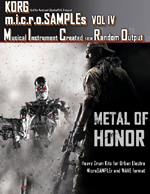microSAMPLES Vol IV Metal of Honor | Software | Add-Ons and Plug-ins