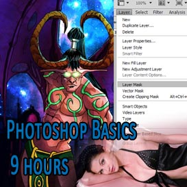 Master Photoshop 9 hour course | Movies and Videos | Educational