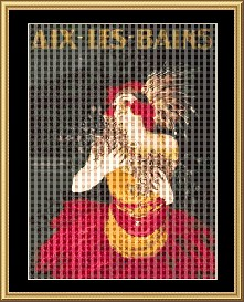 Aix-Les-Bains  Cross Stitch Download | Crafting | Cross-Stitch | Other